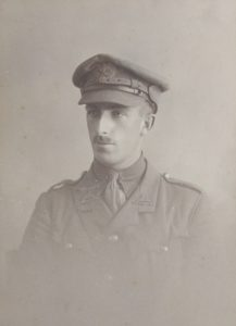John Kenneth Brice-Smith, 7th Lincolnshire Regiment, died of wounds, September 11, 1915