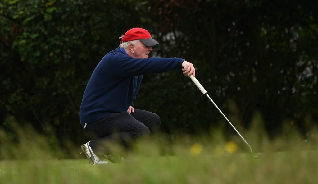 Peter Wylie-Harris at the OC Invitational Golf Day 2016