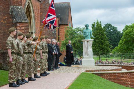 War memorial unveiling, July 1, 2016