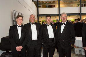 Tony Strachan, Martin Williamson, Dodie Khurshid and Mark Lubbock, OC Donner, Emms Centre, April 16, 2016